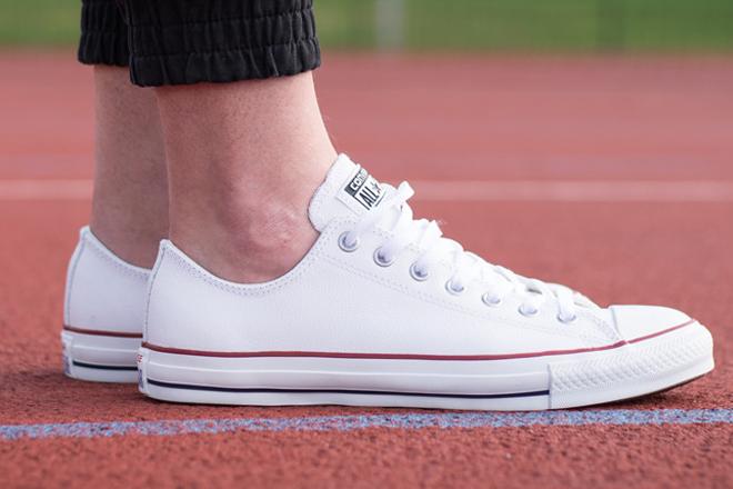 sneaker converse trắng