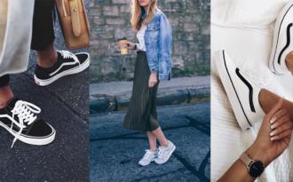 """Mặc váy sợ nói """"bánh bèo nhập"""" thì hãy thử mix đồ với sneaker theo cách sau cho bộ cánh thêm chất lừ"""