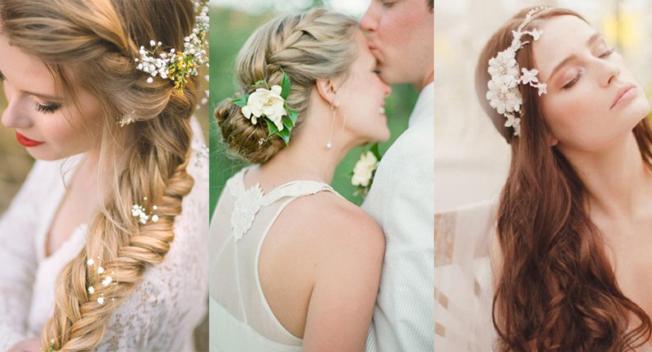 9 kiểu tóc cô dâu xinh đẹp và lộng lẫy nhất cho mùa cưới 2018